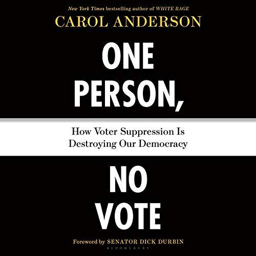 One Person, No Vote audiobook cover art