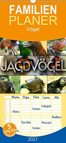 Jagdvögel - Familienplaner hoch (Wandkalender 2021, 21 cm x 45 cm, hoch)