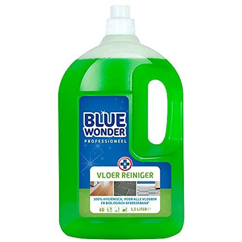6x Blue Wonder Professionele Vloerreiniger 1500 ml