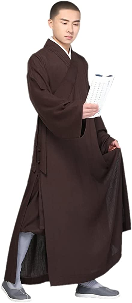 Qiezi Monk Loose Fit Kung Fu Practice Gown