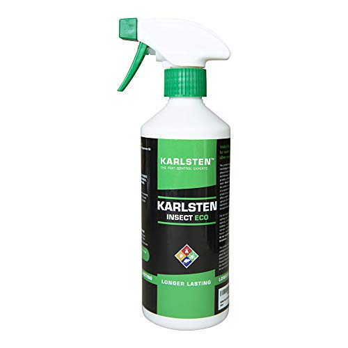 Karlsten Pest Control Spray - For Spiders, Fleas, Roaches, Ants, Flying...