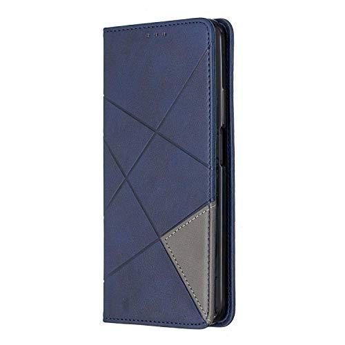 Bear Village® Huawei Honor 9X Weich Hülle, Premium Brieftasche Tasche mit TPU Innere, Magnet Klapp Ständer Leder Hülle für Huawei Honor 9X, Blau