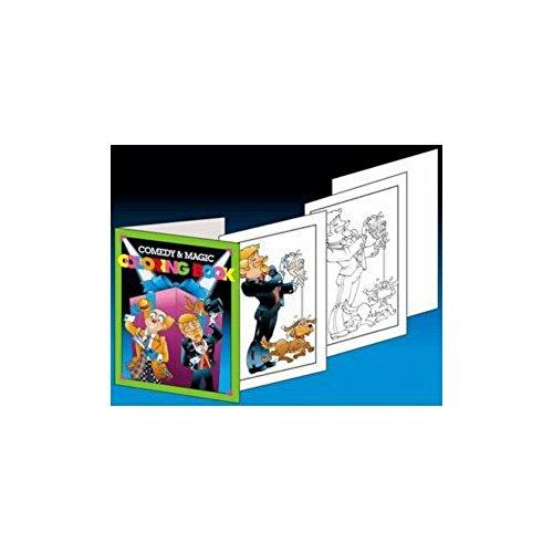 Loftus International Comedy & Magic Coloring Book - Easy Magic Trick Novelty Item