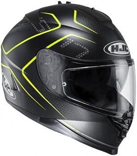 HJC helm Moto Is – 17 Lank mc4hsf, zwart/geel, maat S