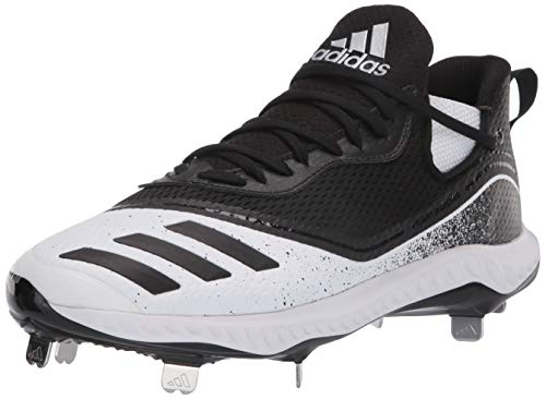 adidas Icon V Bounce Cleats, Zapatillas Deportivas. Hombre, FTWR White Core Black Core-Reloj de Pulsera, Color Negro, 47.5 EU