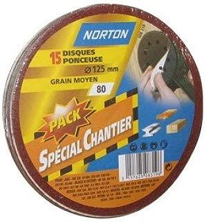 Norton Lot de 10 bandes abrasives Norton R822 CA-BELTS 13 x 457 mm Grain 40