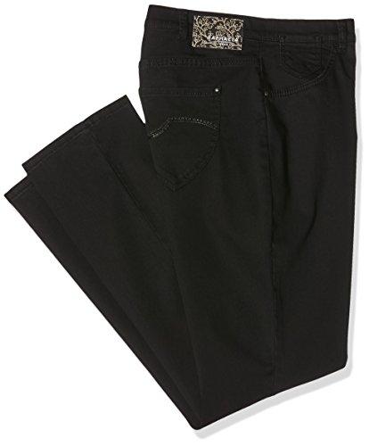 Raphaela by Brax Damen Corry Fame | Comfort Plus Jeans Hose, Schwarz (Black 2) , W29/L32 (Herstellergröße: 38)