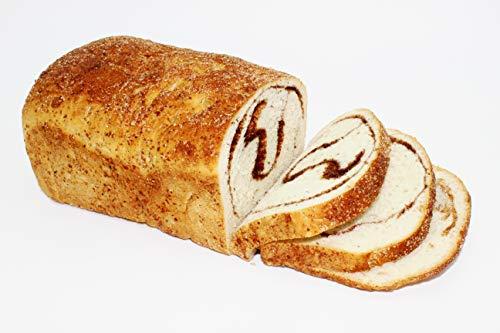 Organic Bread of Heaven ~ Cinnamon Swirl Bread 2 loaves ~ USDA Organic