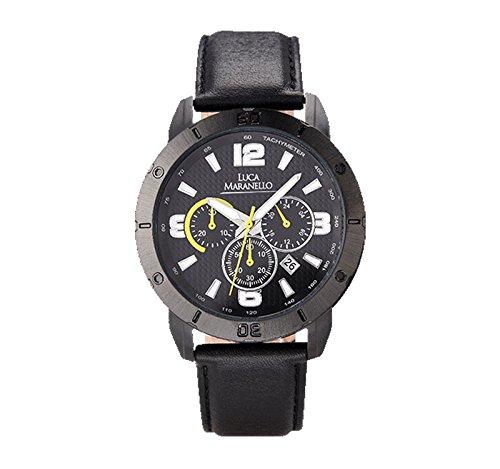 Bosch Luca Maranello VOLANO Chronograph Leder Schwarz/Schwarz G4905A
