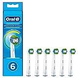 Oral-B Precision Clean - Cabezales para cepillo de dientes (6 unidades, cerdas CleanMaximiser)