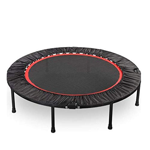 LuoMei Trampoline Gym Adult Indoor Home Trampoline Folding Jumping Bed Adult Weight Loss Trampolineblack,