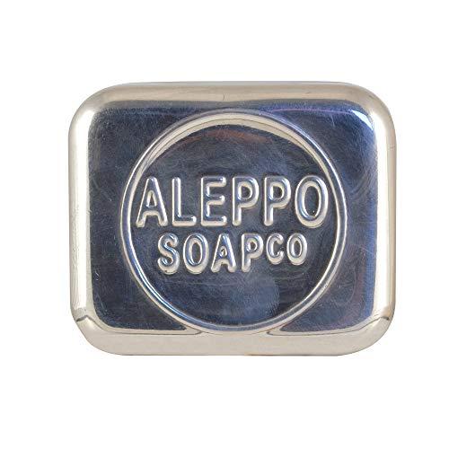 Aleppo Soap Co Zeepdoos Aluminium Leeg Voor Zeep