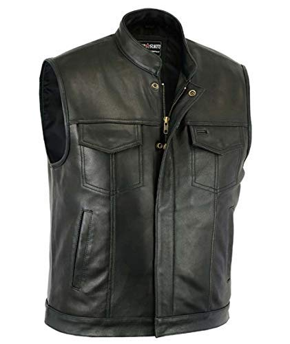 Gilet Cuir Sons of Anarchy Taille XL