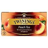 Twinings - Tè nero, aromatizzato alla pesca - 50 g...