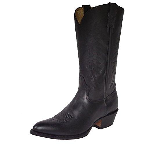 Rancho 2058 Westernstiefel,Cowboystiefel,Stiefel,Leder,Nubuk,Boots,neu, Farbe:Black, Größe:39