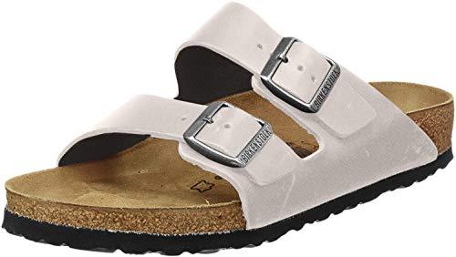 Birkenstock Unisex Arizona Slide Sandal, Stone, Size 42 EU (9-9.5 M US Men/11-11.5 M US Women)