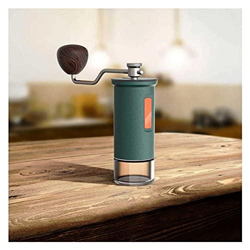 YAZHUANG8 Macchina per caffè Portatile Caffettiere da Campeggio Caffettiere da Viaggio Caffettiera Maker Portatile Maker per caffè Espresso Scuotendo macinazione a Fagioli (Color : B)
