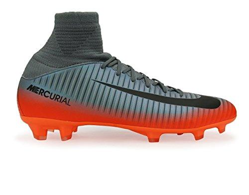 Nike Kids Mercurial Superfly V Cr7 Fg Cool Grey/Metalic...