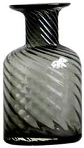 Transparante glazen vaas, onregelmatig oppervlak Desktop Vaas 3 Maten decoratieve vaas Balkon Vensterbank Hydroponic Plant Bottle Decor Vazen (Size : 9 * 9 * 21CM)