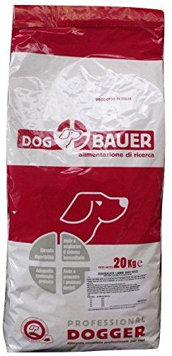 DOG BAUER alimentazione di ricerca Lamb & Rice Crocchette per Cani Agnello e Riso (20Kg)