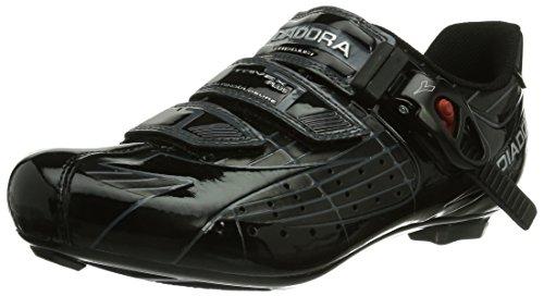 Diadora TRIVEX PLUS - Calzado de ciclismo unisex, color Negro, talla 43