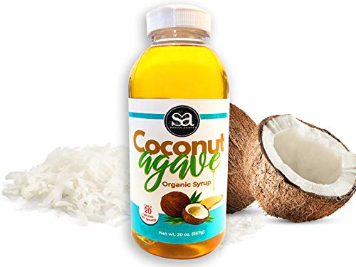 Soviia Organic Coconut service Agave Brand Cheap Sale Venue Syrup Ve Low-Glycemic Grown Estate