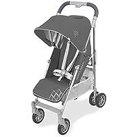Maclaren Techno arc Silla de paseo - ligero, manillar unido, para recién nacidos hasta los 25kg, Asiento multiposición, suspensión en las 4 ruedas