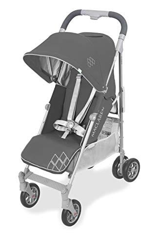 Maclaren WD1G260612 Techno arc - Silla de paseo, ligero, manillar unido, para recién nacidos hasta los 25kg, Asiento multiposición, suspensión en las 4 ruedas