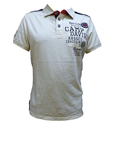 Camp David Polo Shirt Ocean Driver Shell CCB-1803-3389 M L XL XXL XXXL (M)