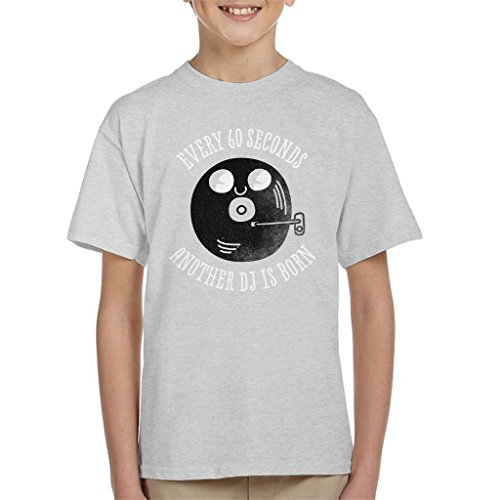 Cloud City 7 Every Sixty Seconds A DJ is Born Kid's T-shirt