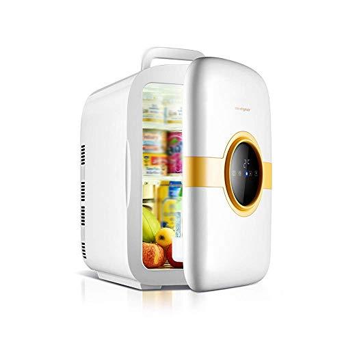 SXXYTCWL Bebida Refrigeradores Mini refrigerador 22 litros Portátil AC/DC Sistema termoeléctrico eléctrico Enfriador y Calentador para automóviles, Casas, oficinas y dormitorios, Blanco jianyou