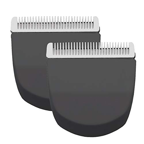 2pcs Black Professional Peanut Clipper/Trimmer Snap On Replacement Blades #2068-300-Fits Compatible with Professional Peanut Hair Clipper