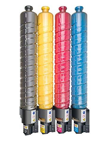 (CS-RC300) Premium-Tonerkartusche para Ricoh Aficio MP C300 300 C300SR 300SR C400 400 C400SR C401 401 C401 SR kcmy 10k