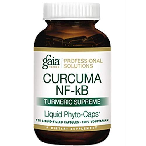 Gaia Herbs Professional Solutions Curcuma NF-kb Turmeric Supreme - Tumeric Curcumin Supplement - Turmeric Capsules - Curcumin Supplements - Anti Inflammatory Supplement - 120 lvcaps