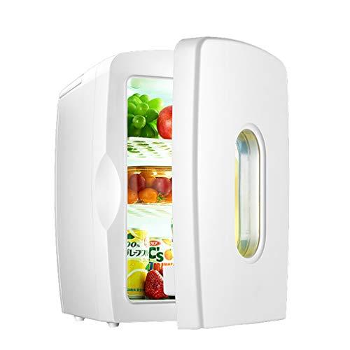 15L Mini-Kühlschrank für tragbare Autos nach Hause Dual-Use-Kompressor, heiße und kalte Doppelfunktion, große Kapazität weiß