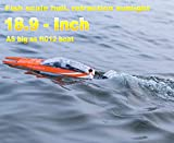 FT016 Remote Control Boat RC Submarine Ship Racing Speedboat 30km+ for Boys Adults