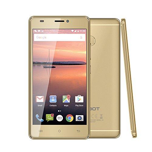 CUBOT H3 Smartphone 4G FDD-LTE Android 7.0 5 Pollici 3GB RAM+32GB Rom MTK6737 1.3GHz Quad Core 16+0.3MP 8MP Macchine Fotografiche Batteria 6000mAh OTG Impronta Digitale