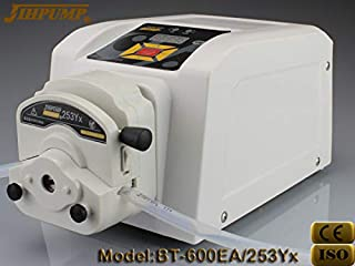 Lab University Analytical Peristaltic Speed Adjustable Dosing Pump Liquid Reversible with 253Yx Flip-Top Head