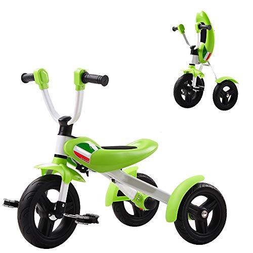 Axdwfd Infantiles Bicicletas Peso de Carga de la Bicicleta del bebé Plegable del Triciclo de niños 3-6Years Viejo Regalo de cumpleaños 25kg
