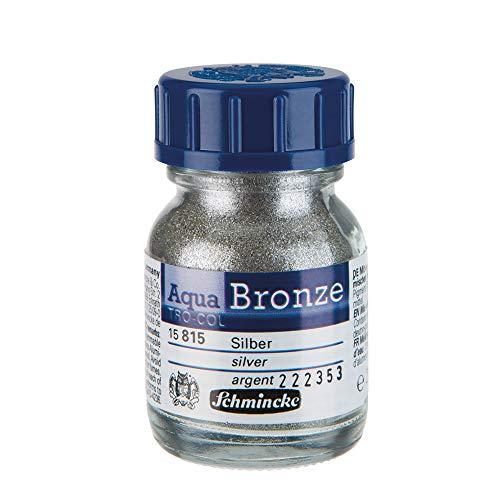 Schmincke : Aqua Bronze Powder : 20ml : Rich Gold