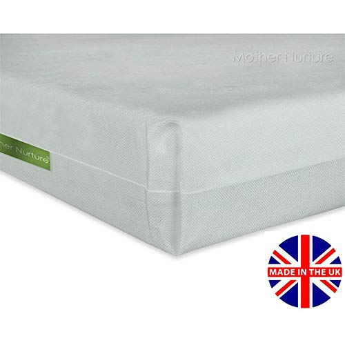 95 x 65 x 5cm COT BED MATTRESS Quilted Baby Waterproof Breathable Extra Thick
