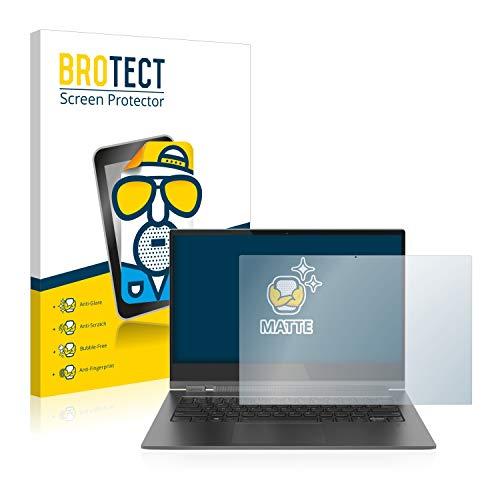 BROTECT Entspiegelungs-Schutzfolie kompatibel mit Lenovo Yoga C930 Bildschirmschutz-Folie Matt, Anti-Reflex, Anti-Fingerprint