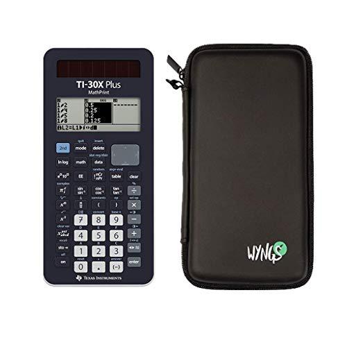 TI-30 X Plus MathPrint + Schutztasche + erweiterte Garantie