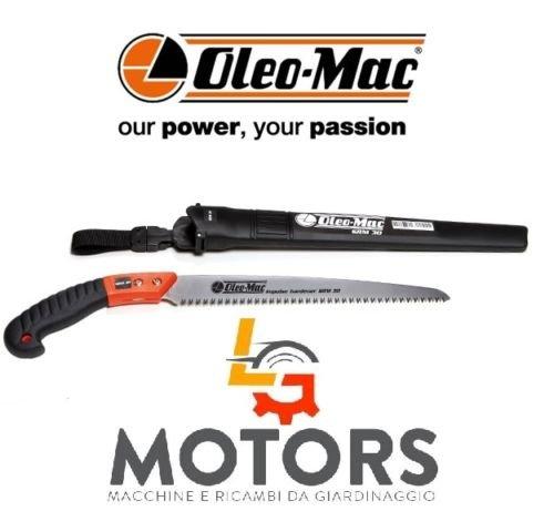 OLEO-MAC SRM30 Scie professionnelle 30 cm pour travaux manuels
