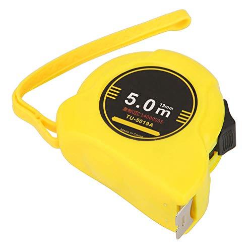 1 Uds cintas métricas cinta métrica portátil 6.5 oz transparente para construcción para carpintería con gancho plegable