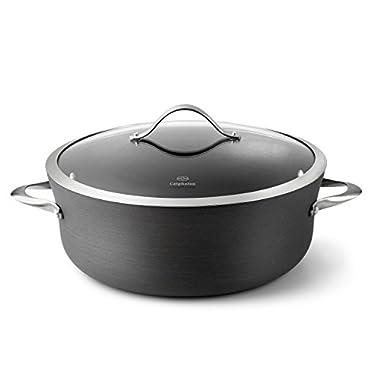 Calphalon Contemporary Hard-Anodized Aluminum Nonstick Cookware, Dutch Oven, 8 1/2-quart, Black