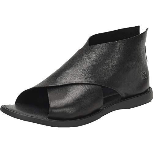 BORN Women's IWA Black Leather 7 B(M) US