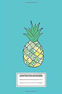 Notebook: Lilly Pulitzer Pineapple , Journal for Writing, Size 6