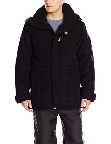 Fjllrven Yupik Men's Parka Black Black/Dark Grey Size:XL by Fjllrven