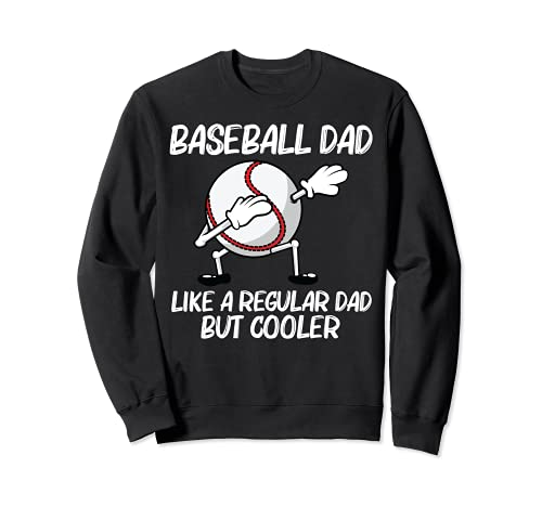 Cool Baseball For Dad Papa Pitcher Bat Ball Softball Sports Sweatshirt